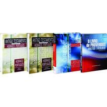 Antigo Novo Testamento E Provérbios Interlinear 4 Vol+ Frete
