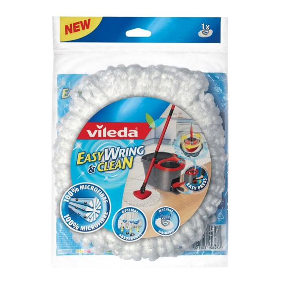 Repuesto Mopa Vileda Easy Wring And Clean Balde Centrífugo