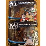 2 Set De Figuras Star Wars Clone Wars Cody Grievous Anakin
