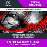 Entrega Ya! Pc Yaiba Ninja Gaiden Z   Steam