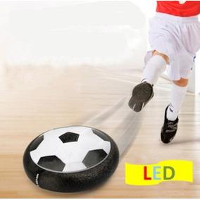 Hoverball Sala Fútbol Led Aire Flotando Juguete De Disco