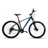 Bicicleta 29 High One 27v Kit Shimano Acera Pt Azul T19