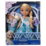 Muneca Toddler 16 Pg Elsa Canta Conmigo Nina Jakks Frozen