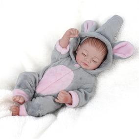 Bebê Reborn Menina 25cm Bonita Menos De 100 Reais Boneca