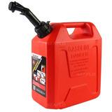 Galão De Combustível Bico Anti Vazamento Lançamento 5 Litro