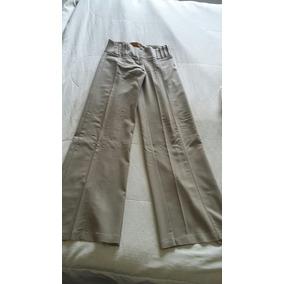 Pantalon Palazzo Con Cintura Plisada