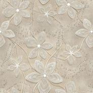 Papel De Parede Floral Elegance Com Efeito 3d - Rolo 10m