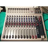 Consola Mixer Peavey Pv14 Canales + Efectos