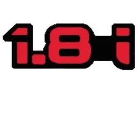 Emblema Ford 1.8i Escort Vermelho 94