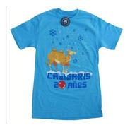 Playera  Azul 20 Años Camello - Hombre