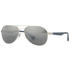 Oculos Rayban Aviador Azul Espelhado - Óculos De Sol no Mercado ... f5294d256f