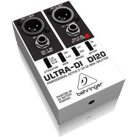 Direct Box Ativo Ultra 2 Canais Behringer Di-20original
