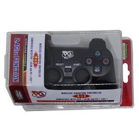 Controle Sem Fio Playgame Ps3/ Ps2/ E Pc Blister