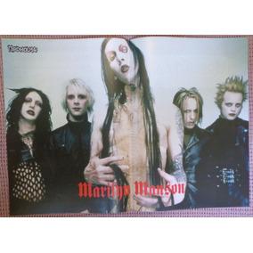Marilyn Manson Poster Nota Velez