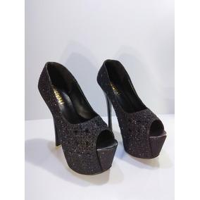 Sapato Preto Feminino Importado