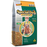 Ração Special Dog Premium Vegetais Cenouro E Espinafre 2,5kg