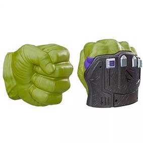 Luva Com Sons Avengers Punho Hulk Thor Ragnarok Hasbro B9974