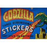 Godzilla Stickers- Únicos!