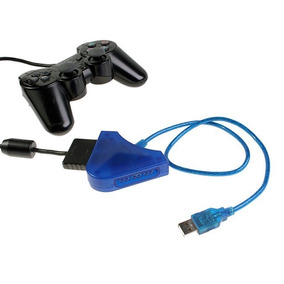 Adaptador De Controle Usb Ps2 Ps1 Joga Pc Ps3