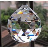 50mm Feng Shui Bola Cristal Prisma Facetada Cristal