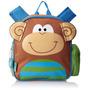 Mochila Infantil Passeio Macaco Stephen Joseph Monkey