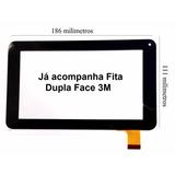 Tela De Vidro Touch Screen Tablet Amvox Toks Dual 7 Polegada