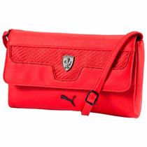 Bolsa Hombro Ferrari Ls Satchel Para Mujer 02 Puma 074206
