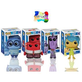 Funko Pop Set 4 Piezas Disney Regalo Intensamente Figuras Cf