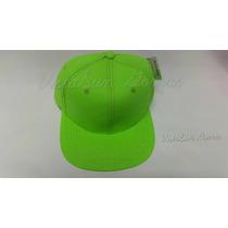 Gorra Plana Unicolor Neon Jagi- Uniforme-deportivo