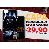 Capa Case Celular Star Wars Capinha Galaxy S3 S4 S5 S6 Mini