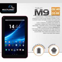 Tablet Multilaser M9 8gb Quadcore 9 Polegadas Rosa Nb174