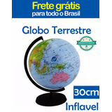 Globo Terrestre Inflavel Geografia Mundi Frete Gratis