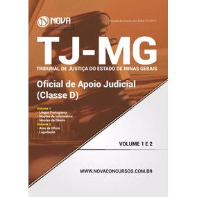 Apostila Concurso Tj-mg 2017 Oficial De Apoio Judicial
