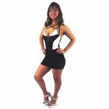 Vestido Curtinho Piriguete Baile Funk Suplex Blogueiras