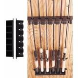 Soporte Berkley Porta Cañas Vertical Para 6 Cañas De Pescar