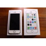Vendo Iphone 5s Blanco 16gb Desbloqueado En Caja