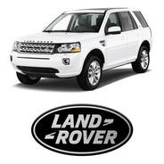 Emblema Automotivo Land Rover Black Resinado
