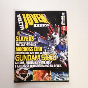 Revista Ultra Jovem Extra Guindam Seed Slayers Macross N°15