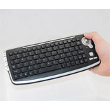 Mini Teclado Multimedia Con Mouse Trackball Inalambrico Nuev