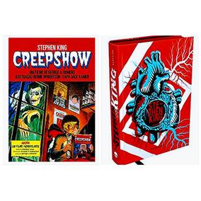 Livro Creepshow + Coração Assombrado A Bio - Stephen King