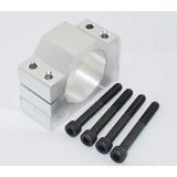 Suporte 52mm Alumínio Para Motor Spindle Tupia Fresadora Cnc
