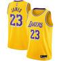 Amarela - LeBron James 23 Los Angeles Lakers