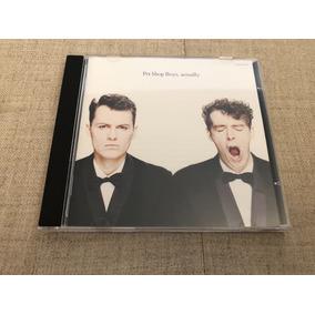 Cd Importado Japão Pet Shop Boys Actually Usado Impecável