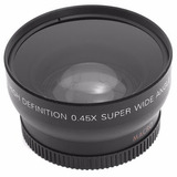 Gran Angular Sony Nikon Y Canon Montura52 Hd 0.45×