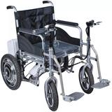 Silla De Ruedas Motorizada Plegable Electrica Hasta 130kg!!