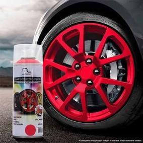Spray Envelopamento Liquido Vermelho Fluorescente 400ml