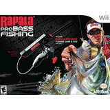 Videojuego Wii Rapala Pro Bass Fishing With Rod Peripheral