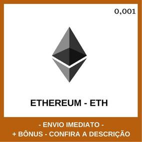Ethereum - 0,001 Eth - Dtechpro + Bônus