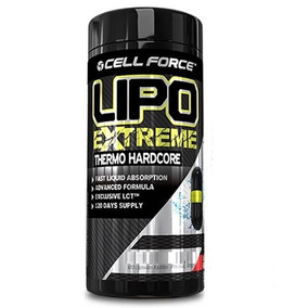 Lipo Extreme - 60 Cápsulas - Cell Force