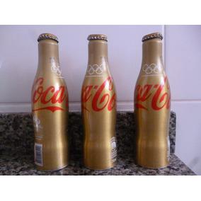 Garrafas De Coca-cola De Alumínio Comemorativas